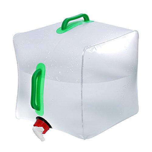 WINOMO Bidon à eau réservoir d'eau bidon sac pliable eau réservoir à eau Récipient à nourriture Eau – 20 L