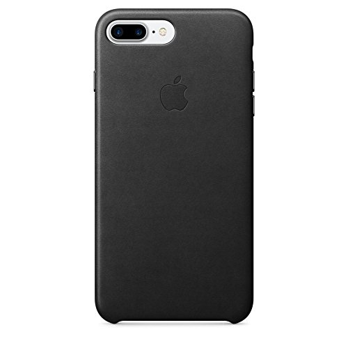 Apple MMYJ2ZM/A - Funda Leather Case para el iPhone 7 Plus - Negro