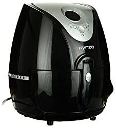 Kynzo KYNZ0003 1350 Watts Air Fryer (Black)