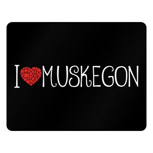 Idakoos I love Muskegon cool style - US Städte - Plastic Acrylic