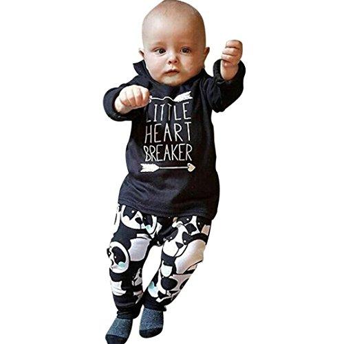Kleinkinder Outfits Frozen Für (Bekleidung Set Jungen kleinkind Langarm Hemd Kurzarm Unterwäsche Set Von Xinan (80,)