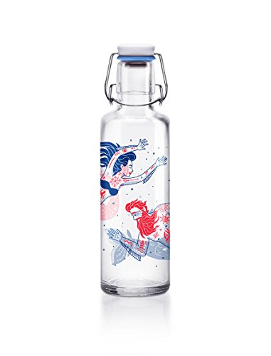 Soulbottle Flasche, Glas, transparent, 0,6 Liter -
