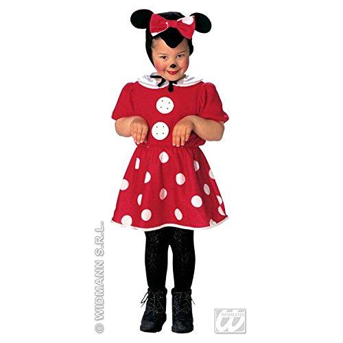Widmann-wdm3612t costume ragazza, bianco rosso nero, wdm3612t