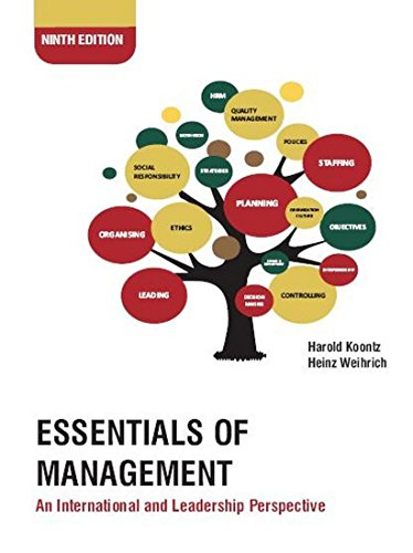 Essentials of Management: An International and Leadership Perspective