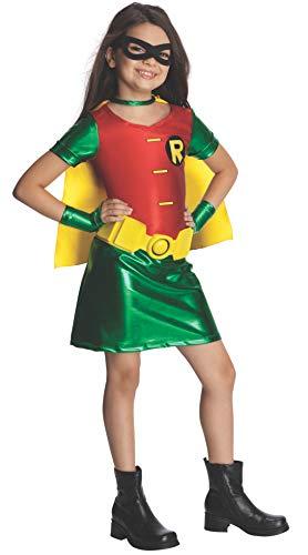 Batman Robin Superheld Kinderkostüm für Mädchen - - Batman Robin Kostüm Mädchen