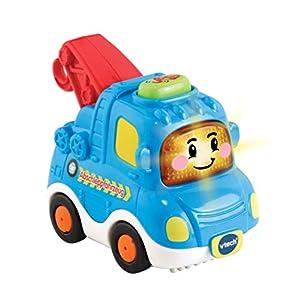 VTech Tut Tut Baby Flitzer 80-516604 vehículo de Juguete - Vehículos de Juguete (Azul, Rojo, Grúa, De plástico, 1 año(s), 5 año(s), Niño/niña)
