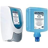 Hartmann Dosierspender Spender CleanSafe basic + 1L Sterillium Gel pure Überkopf preisvergleich bei billige-tabletten.eu