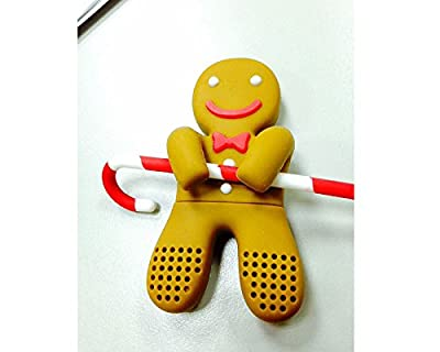 Pain d'épices, thé infuseur, gingerbread man tea infuser