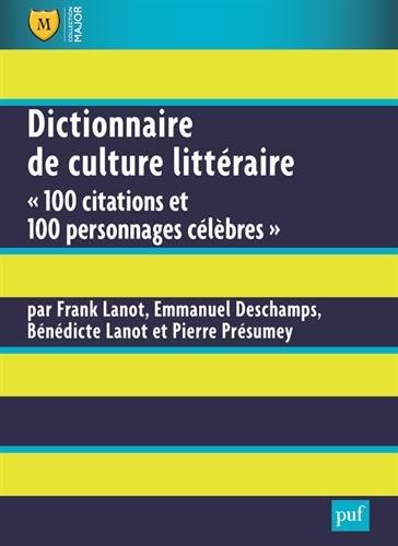 Dictionnaire de culture littraire