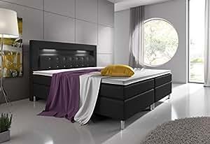 boxspringbett monaco hotelbett 180x200 cm. Black Bedroom Furniture Sets. Home Design Ideas