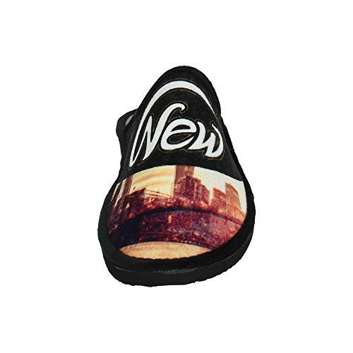 MORANCHEL, Pantofole uomo Nero