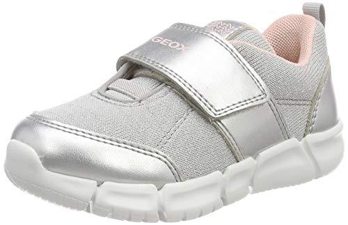 Geox Baby Mädchen B Flexyper Girl a Sneaker, Grau (Lt Grey C1010), 20 EU Baby-sneaker