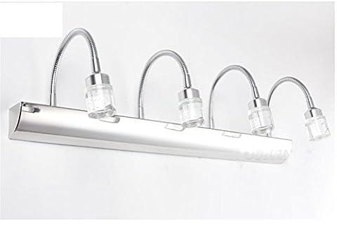 Led Lampe En Cristal / Lampe / Acier Inoxydable Salle De Bains Imperméable Anti Brouillard Miroir Lampe , 4 Heads,4