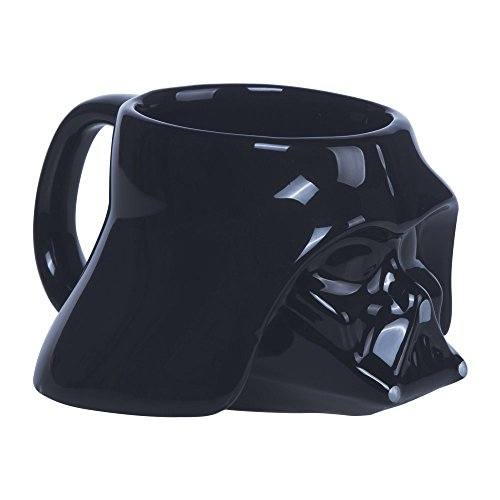 Star Wars klein 3D Darth Vader Becher, schwarz