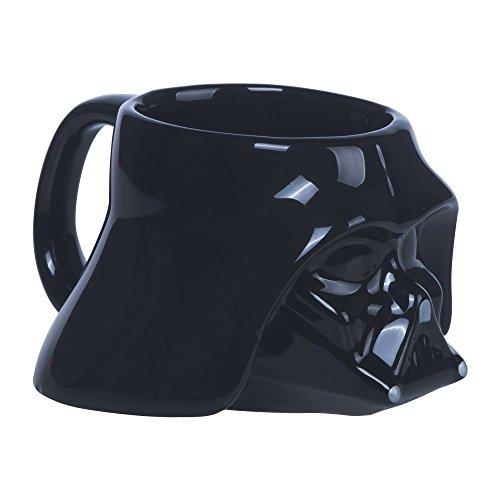Star Wars Darth Vader Taza, cerámica, Negro, 13x11x8 cm