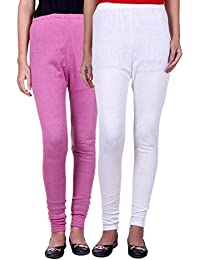 Belmarsh Warm Leggings - Pack of 2 (Bpink_White)