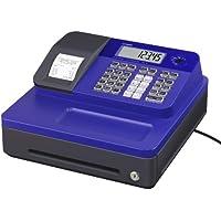 Casio SE-G1SB-BU - Caja registradora (cajón pequeño para dinero, impresora y pantalla para cliente), color azul