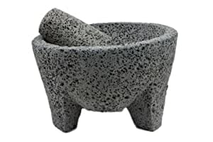 Molcajete Authentic-Mortier et pilon de style mexicain Garden