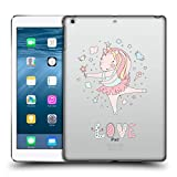 Head Case Designs Offizielle Kristina Kvilis Liebe Einhoerner 2 Ruckseite Hülle für iPad Air (2013)