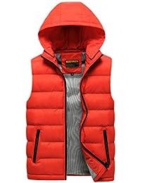 finest selection 595ae 24854 gilet rosso smanicato - Uomo: Abbigliamento - Amazon.it