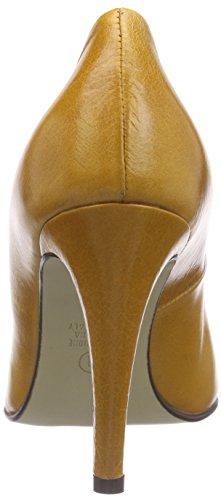 Noe Antwerp Nuvida Pump, Chaussures à talons - Avant du pieds couvert femme Marron - Marron (noix)