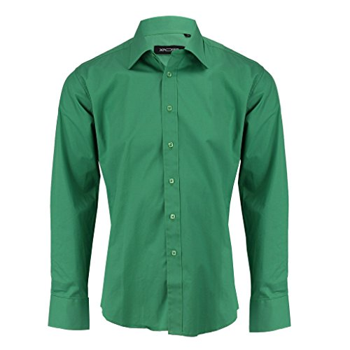 Xposed -  Camicia Casual  - Basic - Uomo Green