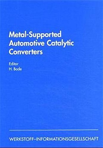 Metal–Supported Automotive Catalytic Converters (MACC′97)