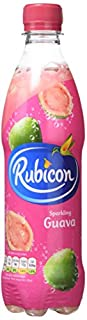 Rubicon Sparkling Guava Juice Drink Bottles, 500ml - Pack of 12 (B0048F44YG) | Amazon price tracker / tracking, Amazon price history charts, Amazon price watches, Amazon price drop alerts