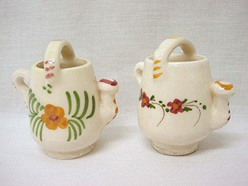 Desconocido Set 5 REGADERAS Ceramica Mini ARTESANIA Variado
