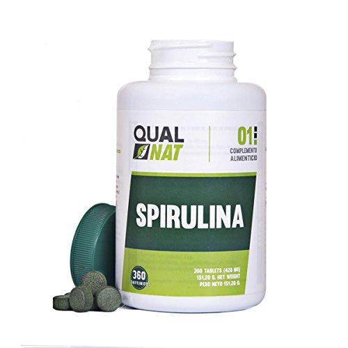 Spirulina-Tabletten, 360 Tabletten, hochdosierte Tabletten, Pulver, Tabletten, Nutzen, maximale Leistung, besonders für Sportler,