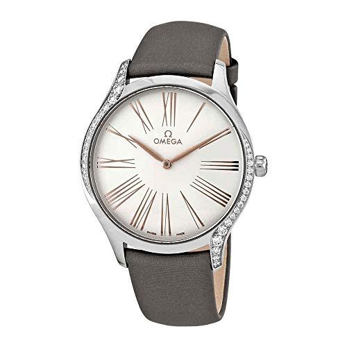 Omega De Ville Tresor Reloj para Hombre con Esfera Plateada 428.17.39.60.02.001