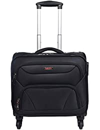 Murano Cannon 4 Wheel Polyester 28 LTR Soft-Sided 15.6 inch Laptop Overnighter Bag/Luggage Bag