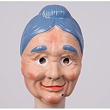 Omamasken und Opamasken Maske Großmutter Großvater wählbar Oma Maske Opa Maske Greisin Alter Greis Karnevalsmaske Faschingsmaske