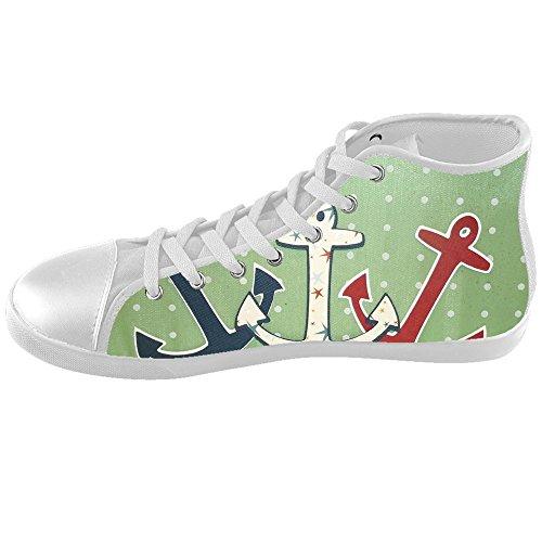 Dalliy Blue ocean Anchor Kids canvas Footwear Sneakers Shoes Chaussures de toile Baskets D