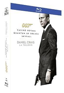James Bond 007 - Daniel Craig : La Trilogie : Casino Royale + Quantum of Solace + Skyfall [Blu-ray] (B00ANSYR4E) | Amazon price tracker / tracking, Amazon price history charts, Amazon price watches, Amazon price drop alerts