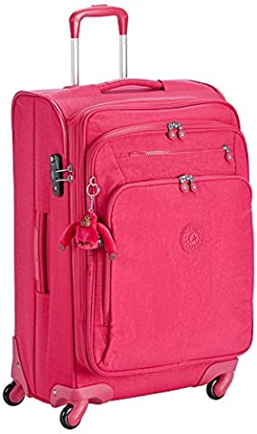 Kipling - YOURI SPIN 68 - 71 Litres - Trolley - Cherry Pink C - (Rose)