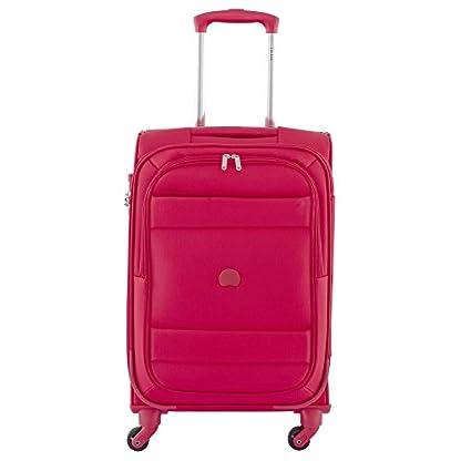 DELSEY PARIS INDISCRETE Equipaje de mano, 55 cm, 39 liters, Rojo (Rouge)