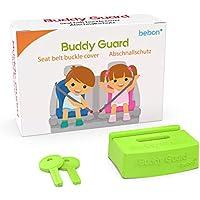 Buddy Guard – Abschnallschutz für den Autositz, Kindersitz – Verhindert, dass Kinder den Sicherheitsgurt unbeabsichtigt öffnen – mit 2 zusätzlichen Schlüsseln – größere Farbauswahl