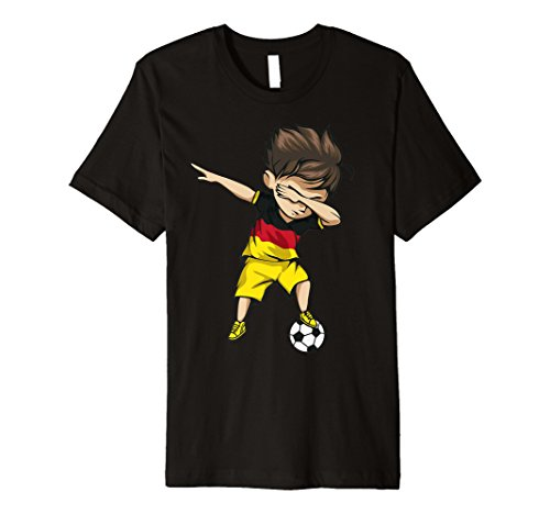 Dance Team-t-shirts (Sanftes Soccer Boy Germany Jersey Shirt - Deutsch Fußball)