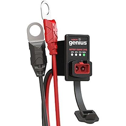 Noco GC016 Genius Dashmount Indicador de Carga de Batería, 12V