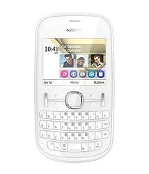 Nokia Asha 200 (Pearl White)