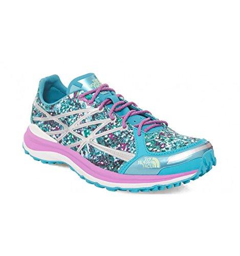 The North Face M Ultra TR II, Zapatillas de Running para Mujer, Azul (
