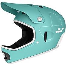 POC Radhelm Cortex Flow - Casco de ciclismo BMX integral, color verde, talla 53-55