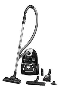Rowenta Compact Power RO3985 Cylinder vacuum 3L 750W A Black vacuum - Vacuums (750 W, A, 28 kWh, Cylinder vacuum, Dust bag, 3 L)