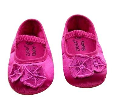 Baby Bucket Pre-Walker Sandal Shoes Light Weight Soft Sole Booties Sandal (Pink, 5-10 Months)  available at amazon for Rs.360