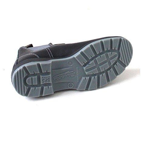 Blundstone  1452, Chaussures bateau pour femme noir noir Noir