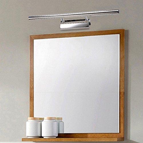 Finether, lampada da bagno al 7W LED, lampada per specchio con ...