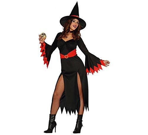 Frau Hexe Kostüm - Fiestas Guirca Kostüm rot Hexe Frau