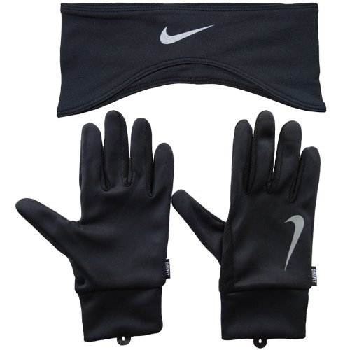 Nike Dri-Fit set de running bandeau / gants Homme