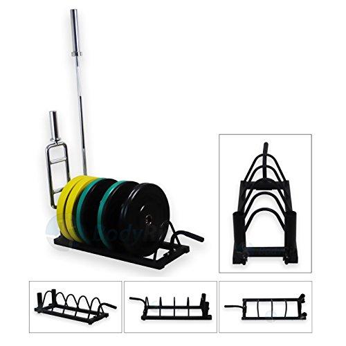 BodyRip Horizontal Olympischen 5,1cm Bumper Bodyrip Hantelscheiben Gewicht Teller Disc Barbell rack Halter tragbar